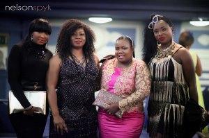 Funmi Ogidan-Bello, Theodora Nollywood Ibekwe-Oyebade, Adaeze Etoniru Udemba and Victoria Abraham.