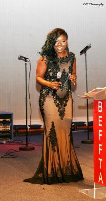 Keisha Des Vignes BEFFTA Winner of Best Hair Stylist