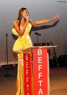 Miss Jamaica Cherelle Patterson BEFFTA Winner for Best Beauty Queen